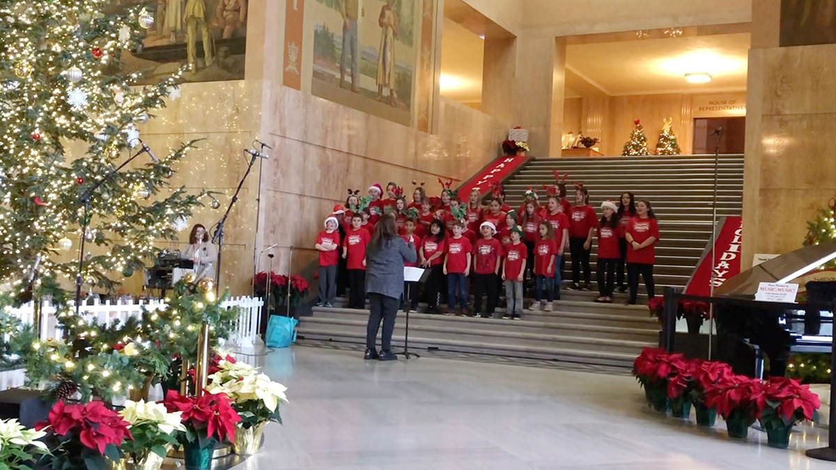 Englewood Elementary Choir at the Capitol 2018