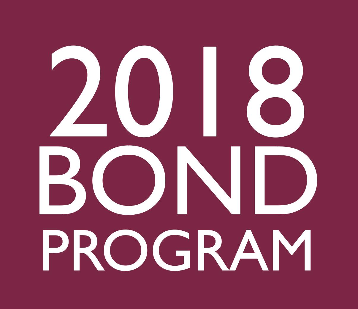 2018 Bond Program image