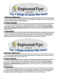 Englewood Weekly Newsletter 4/1/2021